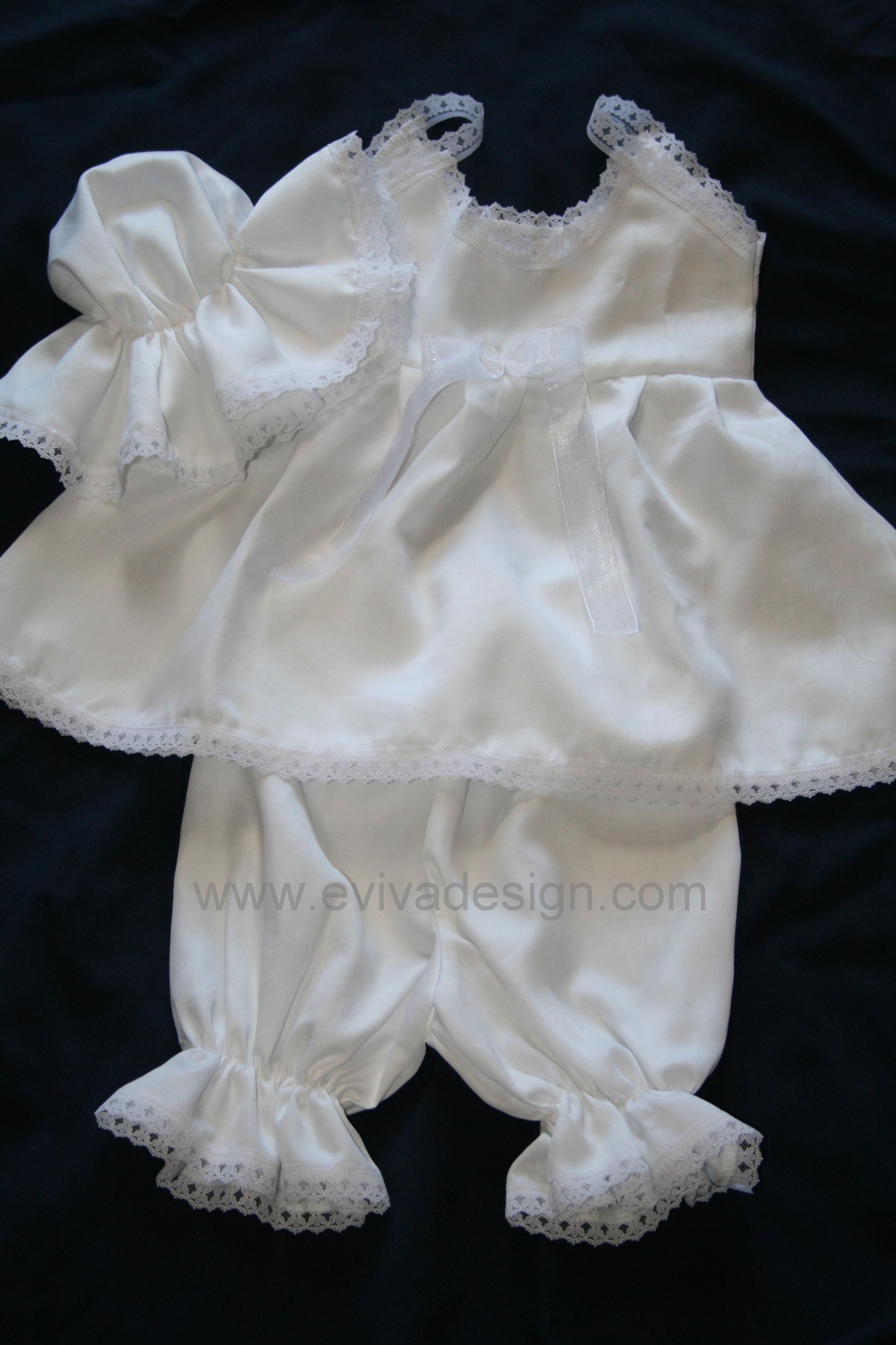 Ladopana Baptism Undergarments Beautiful Oil Sets